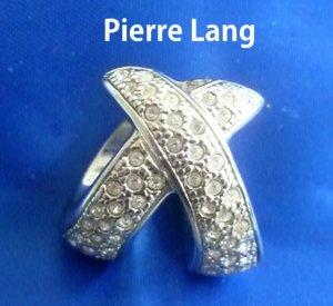 NW - Pierre Lang Anhänger mit Zirkonia Steinen und  Kordelkette