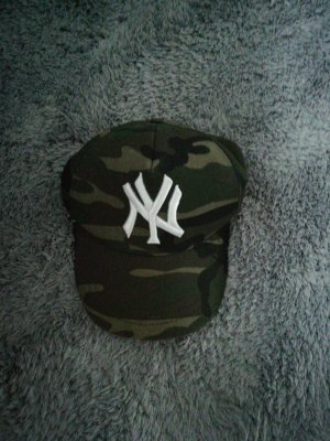 (The Mercer) NY Casquette de baseball multicolore