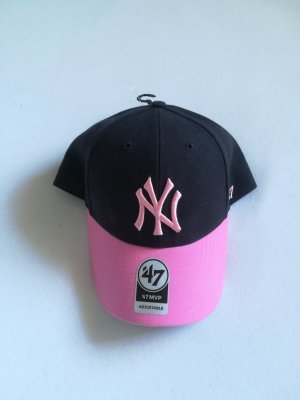New Era Berretto da baseball nero-rosa