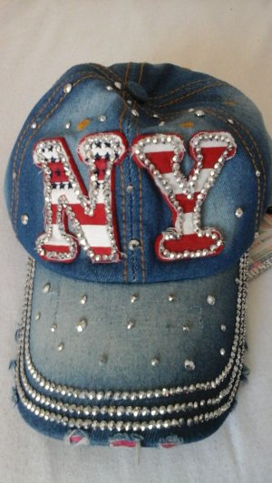 NY Cap Frieda&Frieddies Jeans, Strass.