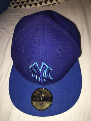 New Era Baseball Cap blue-light blue