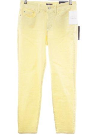 NYDJ Jeans 7/8 jaune primevère style décontracté