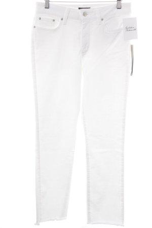 NYDJ Jeans 7/8 blanc style décontracté