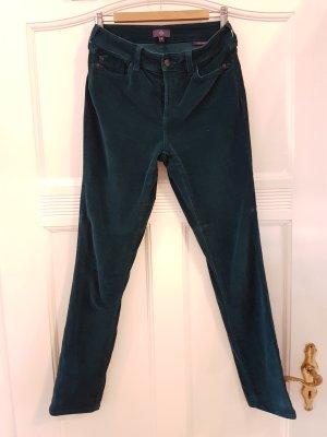 NYDJ Pantalone di velluto a coste petrolio