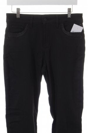 NYDJ High-Waist Hose schwarz Street-Fashion-Look
