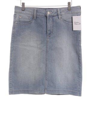NYDJ Jeansrock kornblumenblau schlichter Stil
