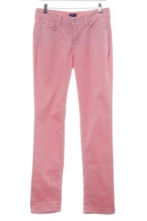 NYDJ Pantalón de pinza alto rosa look casual