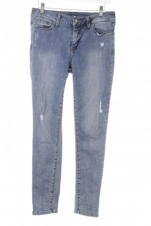 NYDJ Skinny Jeans kornblumenblau Casual-Look