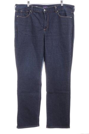 NYDJ Straight-Leg Jeans dunkelblau Casual-Look