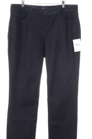 NYDJ Straight-Leg Jeans taupe-dunkelgrau schlichter Stil