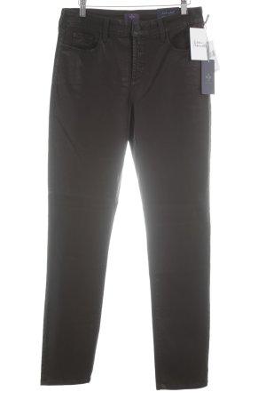 NYDJ Pantalone elasticizzato marrone stile casual