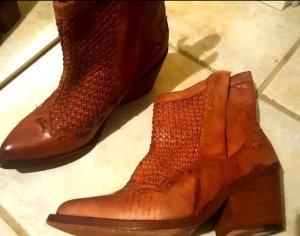 Nylo Stiefel Stiefeletten Boots d.g Leder Vero Cujo Neu by Area Forte