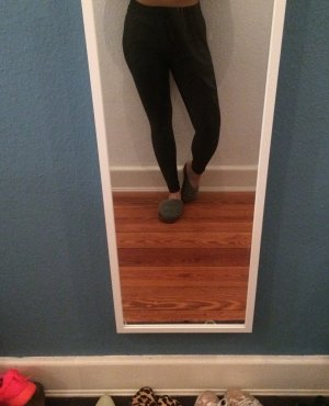 Nylon Leggings von American Apparel