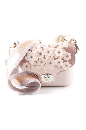O bag Borsetta mini motivo floreale effetto bagnato