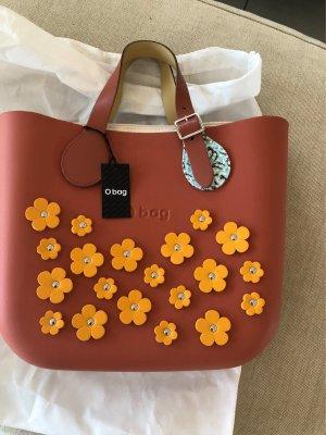 O Bag Neu mit Edikett mit Lederhenkel und innentasche