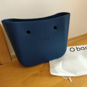 O bag Sac à main bleu