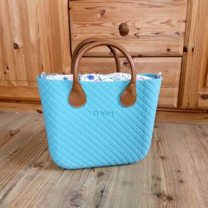 O bag Shopper turquoise