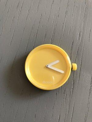 O Clock Uhr, gelb, zum Wechseln
