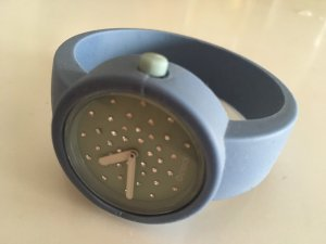 Watch turquoise-azure