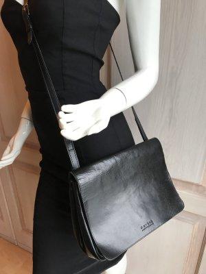 O My Bag Amsterdam Leder Tasche schwarz Crossover Retro Vintage Style