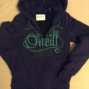 O'Neill Jacke/ Sweatjacke Größe xs blau