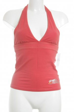 O'neill Halter Top bright red casual look