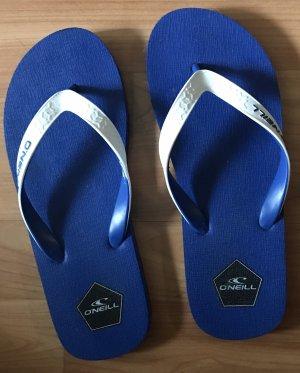 ONEILL High-Heeled Toe-Post Sandals white-blue
