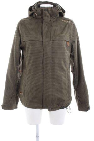 O'neill Outdoor Jacket khaki check pattern casual look