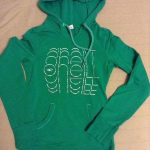 O'Neill Pullover/ Sweatshirt mit Kapuze Größe 34/xs in grün