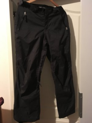 ONEILL Pantalone a vita bassa nero Tessuto misto