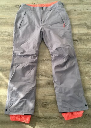 ONEILL Pantalon de ski gris-orange fluo
