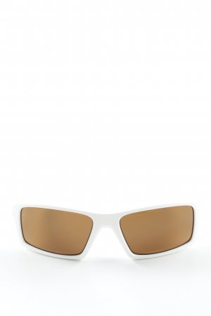 Oakley Glasses white-bronze-colored extravagant style