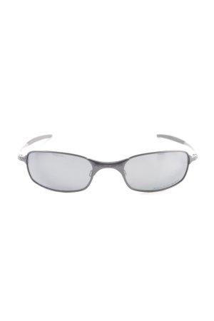 Oakley Angular Shaped Sunglasses black casual look