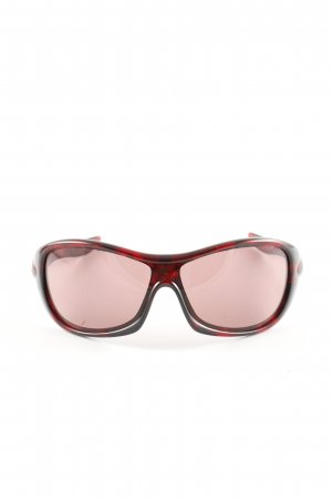 Oakley Oval Sunglasses red-black allover print casual look