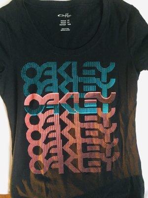 Oakley Shirt, Aufdruck vorne, Größe S