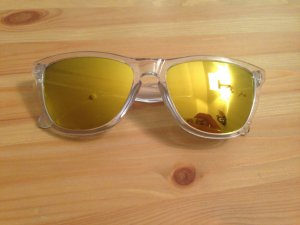 Oakley Sunglasses gold-colored synthetic material