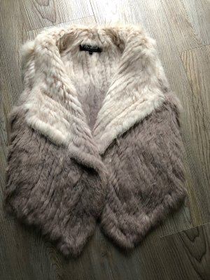 Oakwood Fur vest multicolored fur