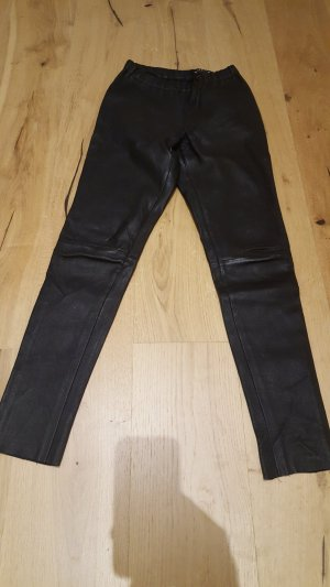 OAKWOOD Echt-Lederleggings schwarz Gr. 38