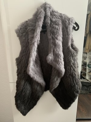 Oakwood Fur vest multicolored
