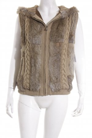 Oakwood Fellweste beige Casual-Look