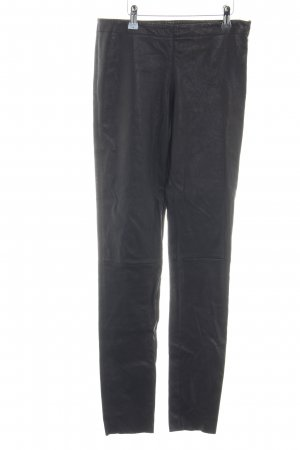 Oakwood Pantalone in pelle nero stile casual