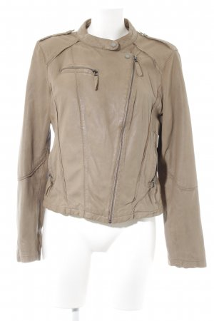 Oakwood Lederjacke beige Casual-Look