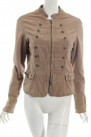 Oakwood Lederjacke hellbraun Street-Fashion-Look
