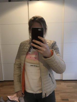 Oakwood Leather Jacket cream-orange