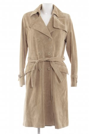 Oakwood Leather Coat natural white casual look