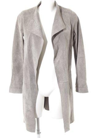 Oakwood Leren jas grijs casual uitstraling