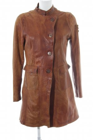 Oakwood Leather Coat multicolored country style