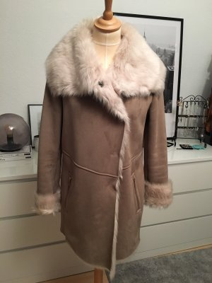 Oakwood Fake Fur Coat multicolored