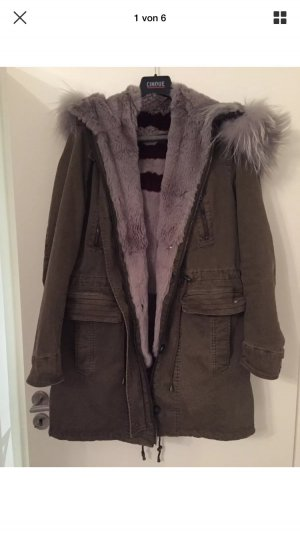 Oakwood Parka Khaki Fell Fishtail 40