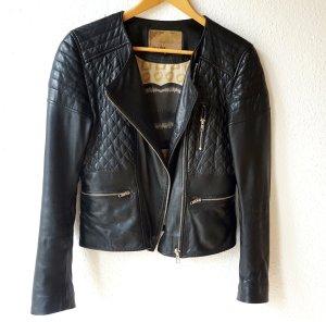 Oakwood -  schwarze Lederjacke